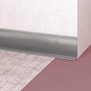 profil plinta flexibila gri deschis pentru covor pvc si linoleum emenatwork. Black Bedroom Furniture Sets. Home Design Ideas